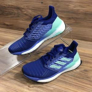 Adidas Womens Solar Boost Running Sneakers New